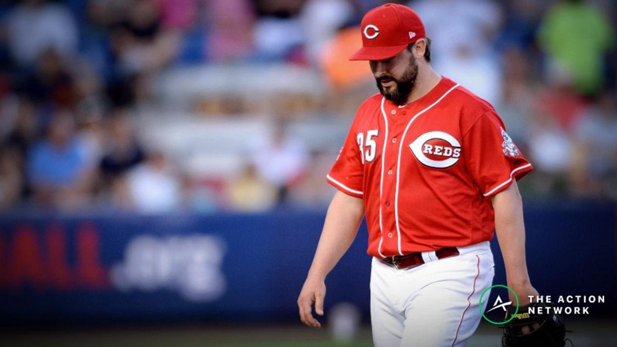 MLB Player Props: Can Tanner Roark Notch Five Strikeouts vs. the Braves? article feature image
