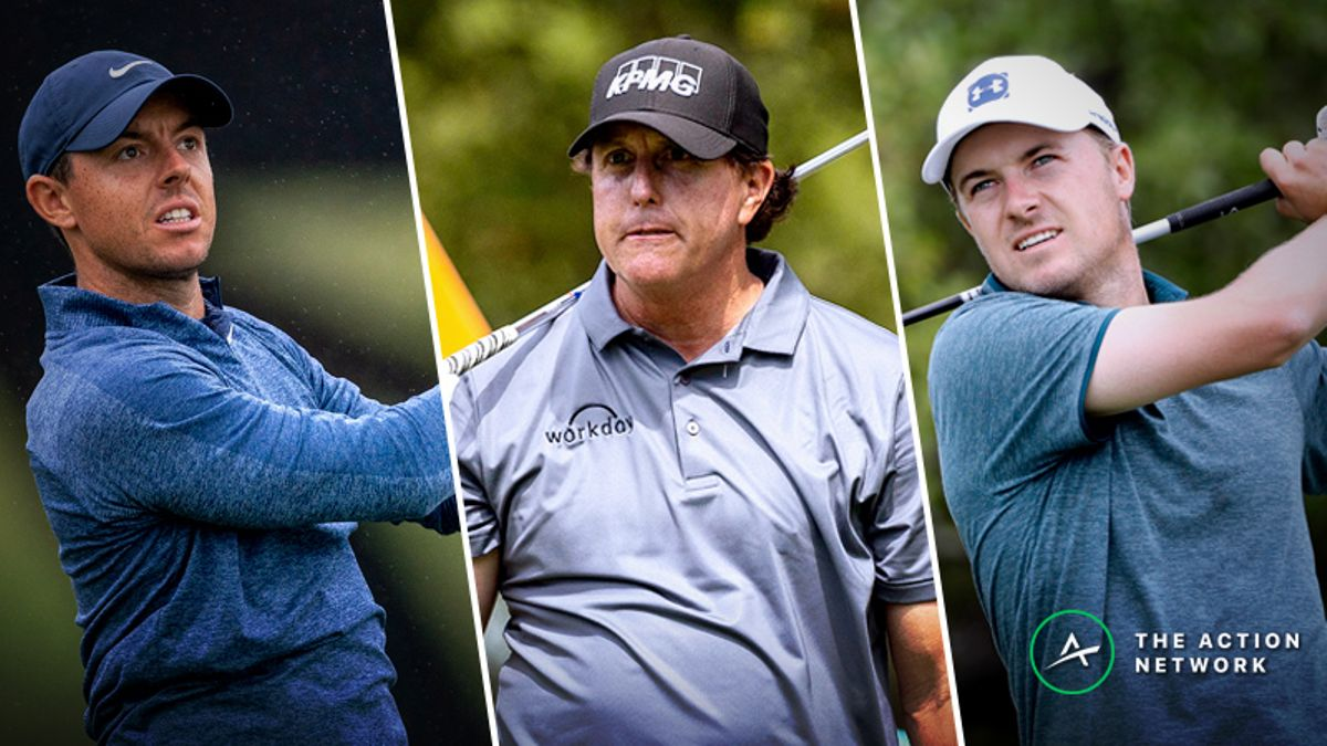 Rory, Phil or Spieth? Setting Odds for Who Will Win the Career Grand Slam First article feature image