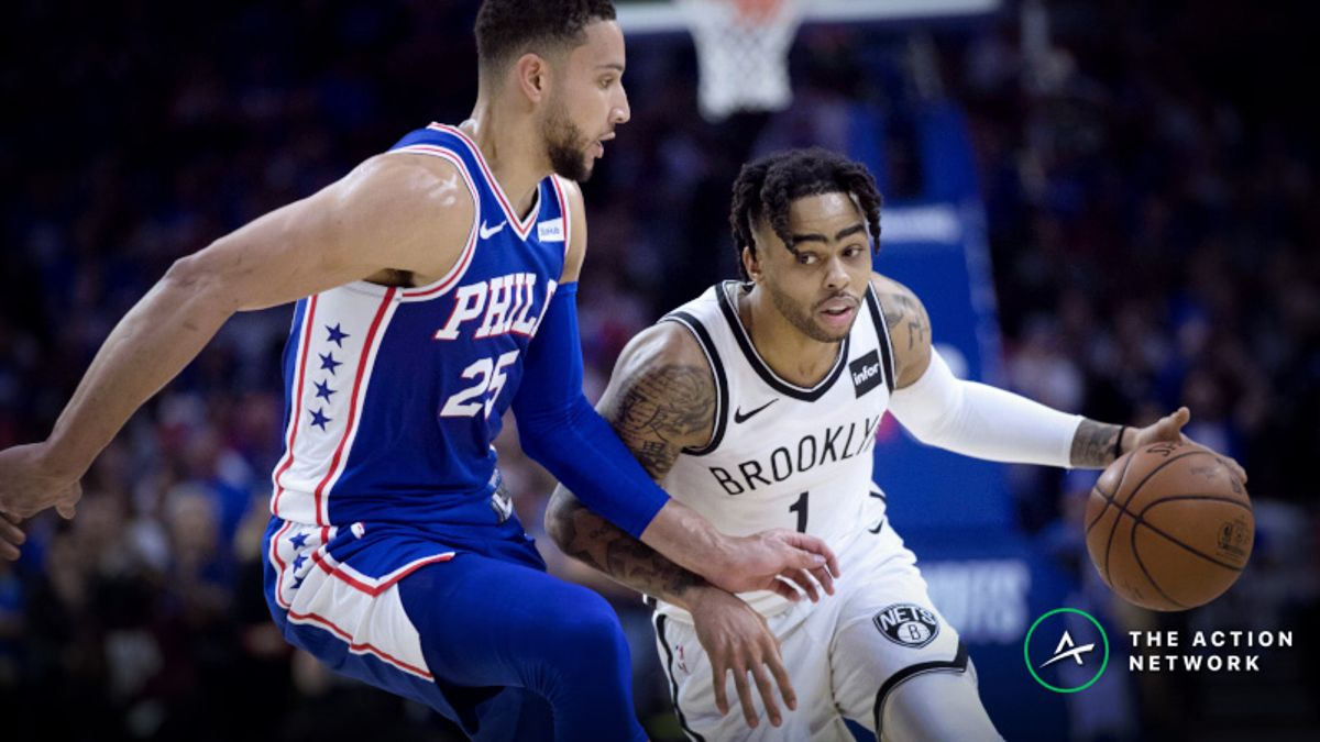 Nets-76ers Game 2 Spread Attracting Professional Bettors article feature image