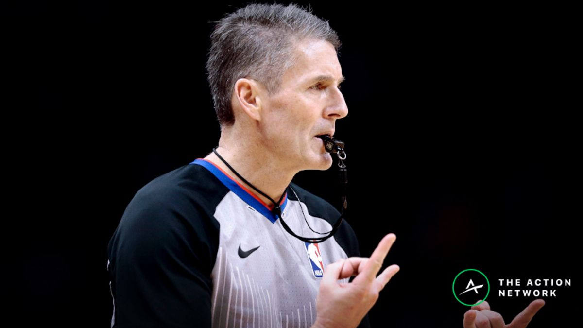 How Ref Scott Foster Could Impact Rockets-Warriors Game 2 article feature image