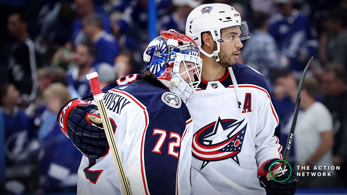NHL Playoffs Game 4 Betting Odds, Previews: Will Blue Jackets Sweep Lightning? article feature image