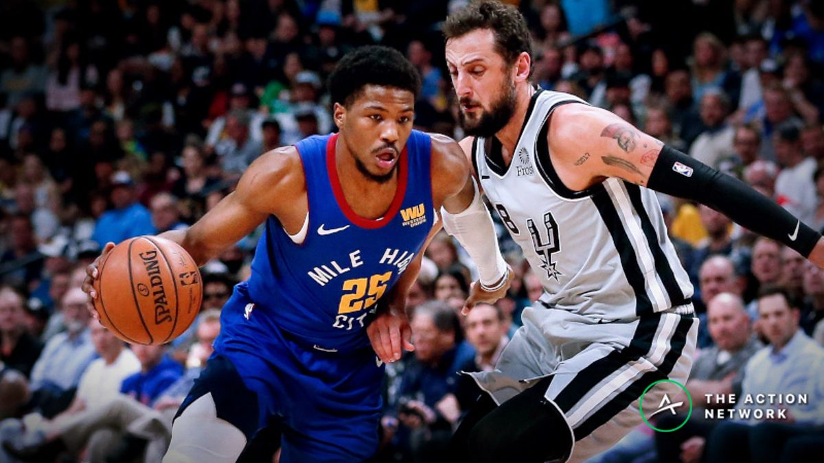 How Sharps Are Shaping Nuggets vs. Spurs Game 6 Spread, Over/Under article feature image