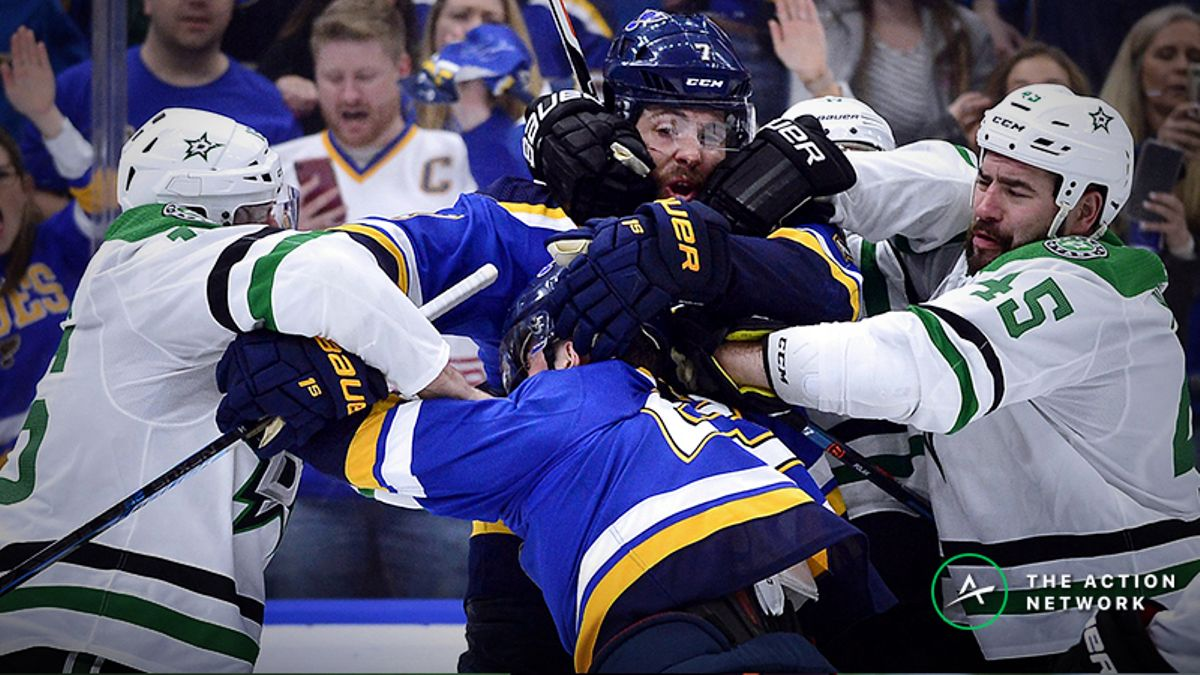 Blues vs. Stars Game 2 Betting Odds, Preview: Dallas Deserved Better in Series Opener article feature image
