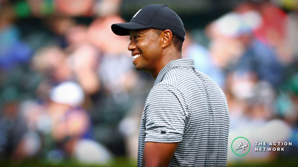 Koerner's Masters Prop Betting Simulator: Tiger Woods Bets Offering Lots of Value article feature image