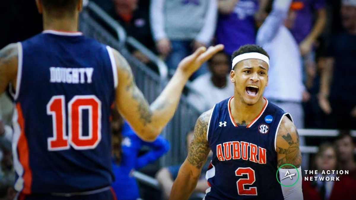 Virginia vs. Auburn Betting Odds: Tracking Line Movements Until Final Four Tipoff article feature image