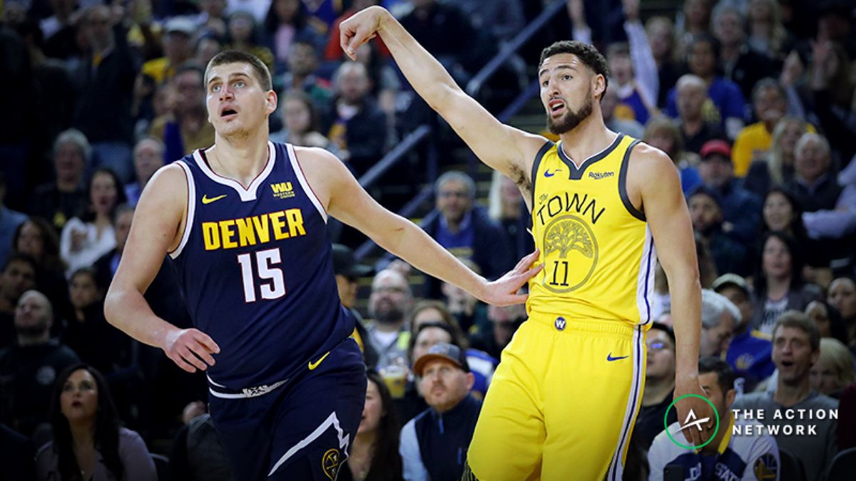 Nuggets-Warriors Betting Line On the Move Thanks to Professional Action article feature image