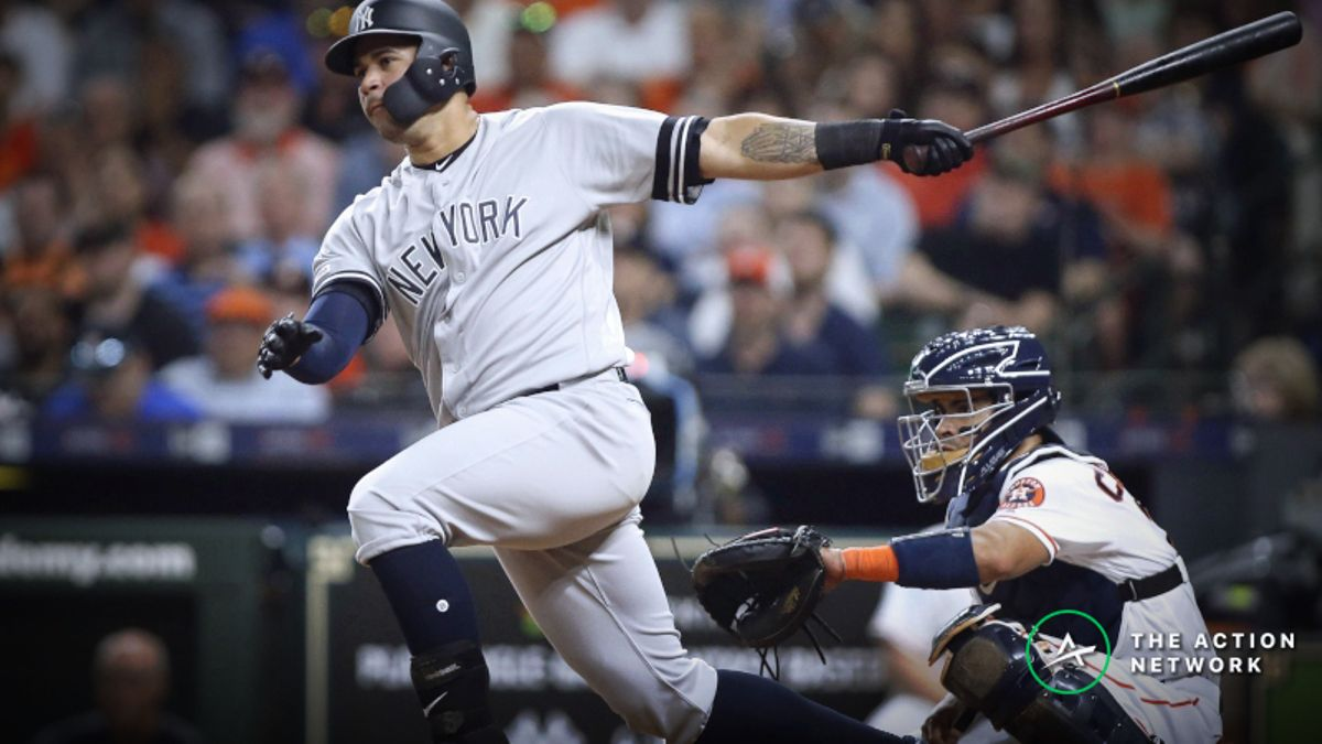 MLB Sharp Report: Pros Betting Yankees-Astros, 2 Other Wednesday Games article feature image