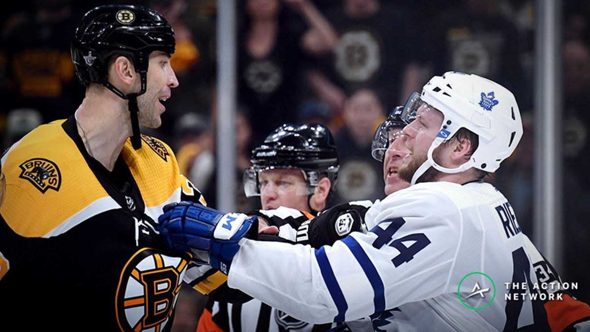 NHL Playoff Game 3 Betting Odds, Previews: Bruins, Maple Leafs Continue Their War article feature image