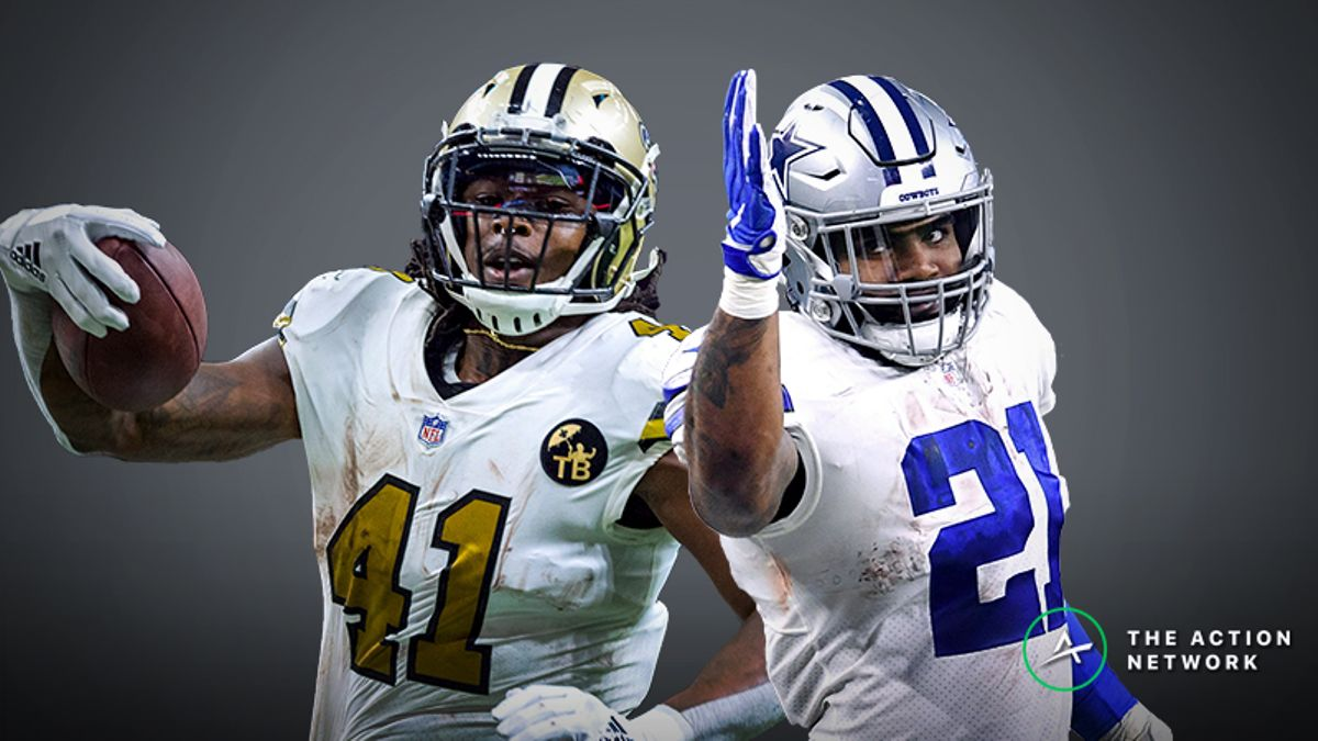 2019 Fantasy Football RB Rankings article feature image