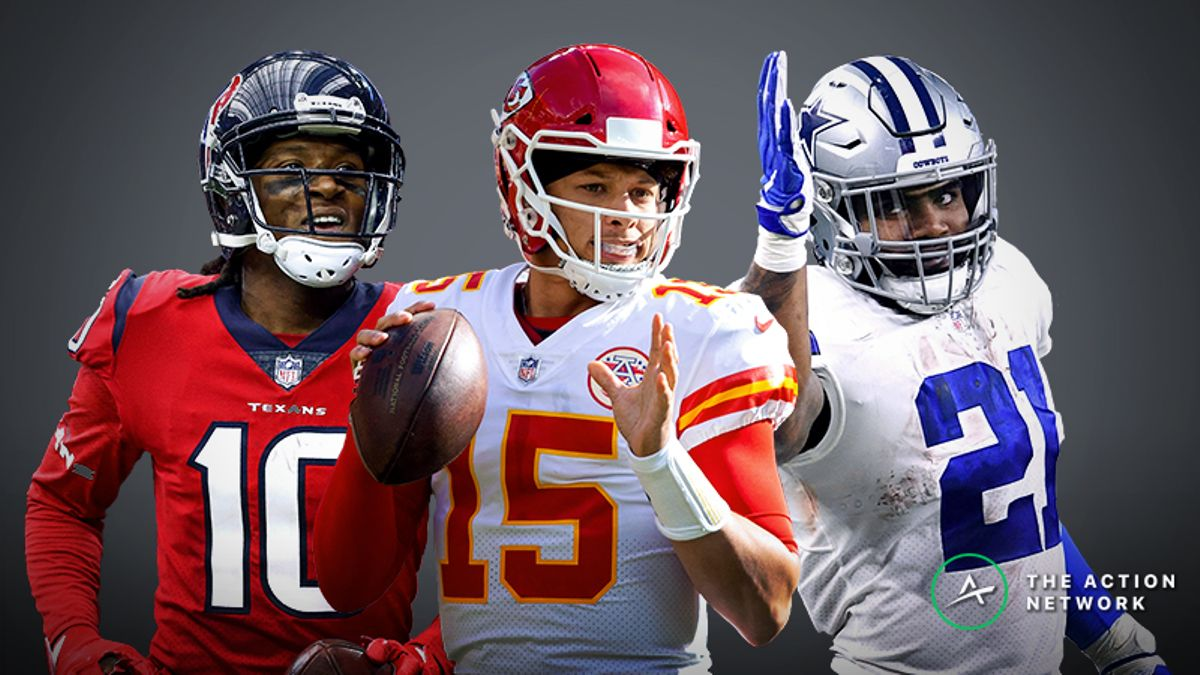 2019 Fantasy Football Rankings: Who Sits Atop Our Top 200? article feature image
