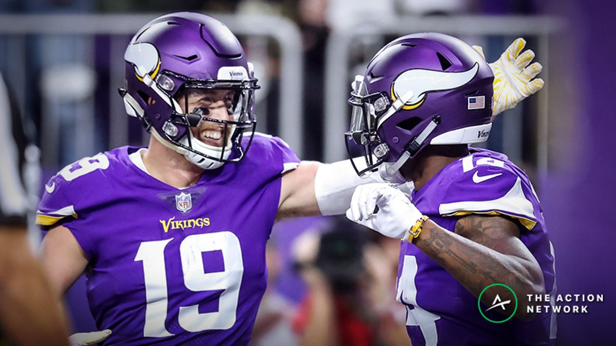 Can Adam Thielen, Stefon Diggs Be Top-10 Fantasy Football Wide Receivers (Again)? article feature image