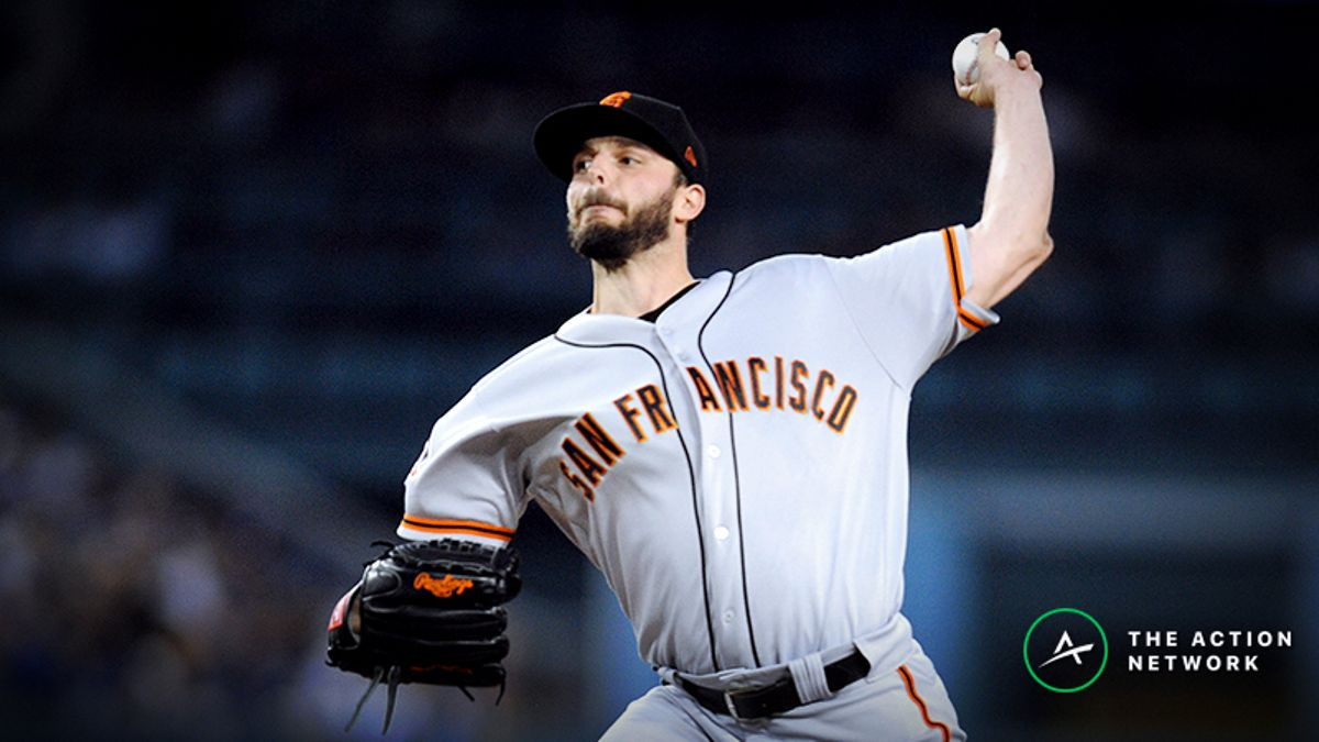 MLB Daily Betting Model, 5/20: Can Andrew Suarez Help Giants' Rotation vs. Braves? article feature image