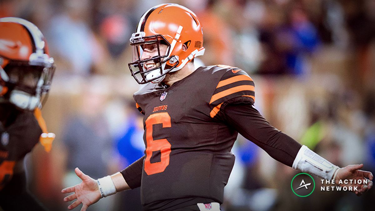Can Baker Mayfield Elevate Browns to Fantasy Football Stardom as NFL's Most Explosive Offense? article feature image
