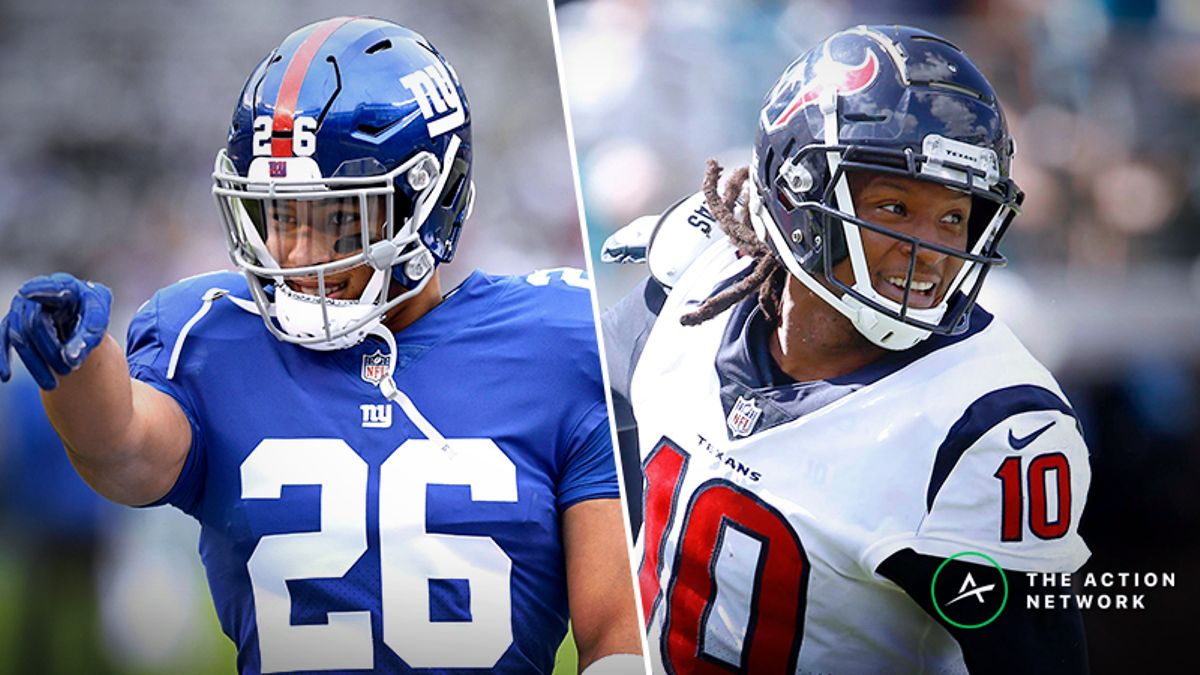 2019 Best Ball Draft Strategy: Our Experts' 4-Team NFL Mock article feature image