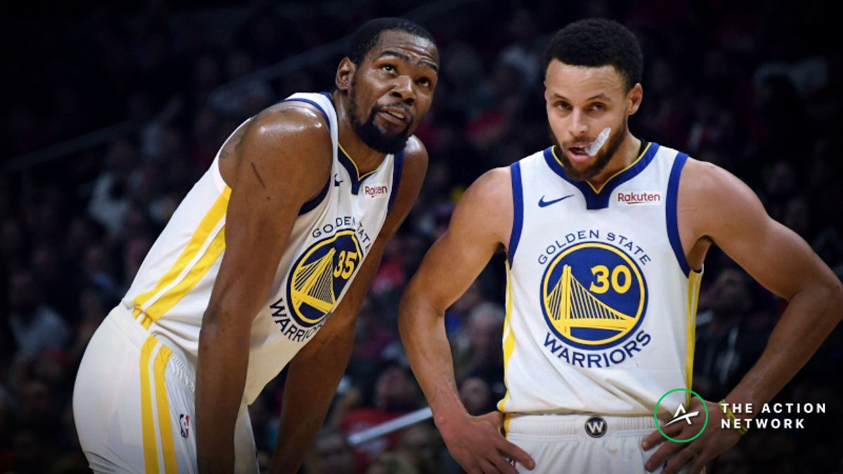 NBA Finals Game 5 Betting Guide: Will We Get Warriors Third-Quarter Magic? article feature image