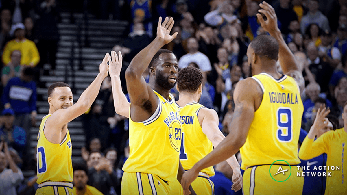 Warriors Playoff Betting Trends to Know: The KD Effect, In-Game Comebacks, Fading Public in Golden State Games, More article feature image