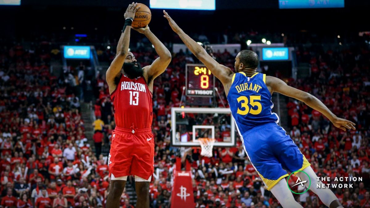 Warriors vs. Rockets Game 4 Betting Preview: Will Houston Even the Series? article feature image