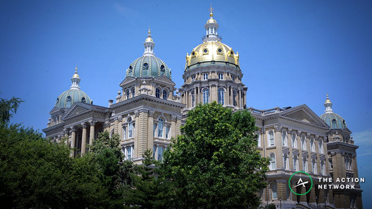 Iowa Becomes 11th State to Legalize Sports Betting article feature image