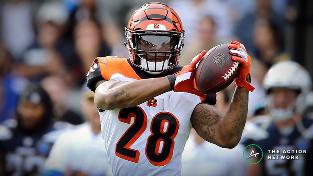 Are You Undervaluing Joe Mixon in 2019 Fantasy Football? article feature image