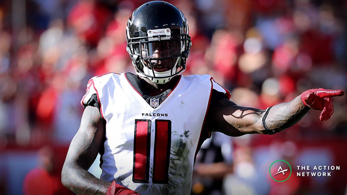 Will Julio Jones Be the No. 1 Fantasy Football Wide Receiver in 2019? article feature image
