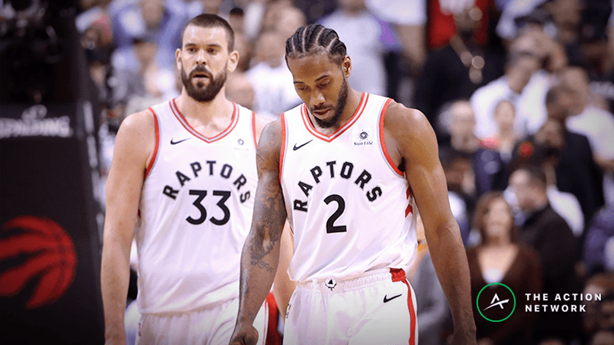 What the Warriors-Raptors Game 1 Spread Means For Toronto's NBA Title Hopes article feature image