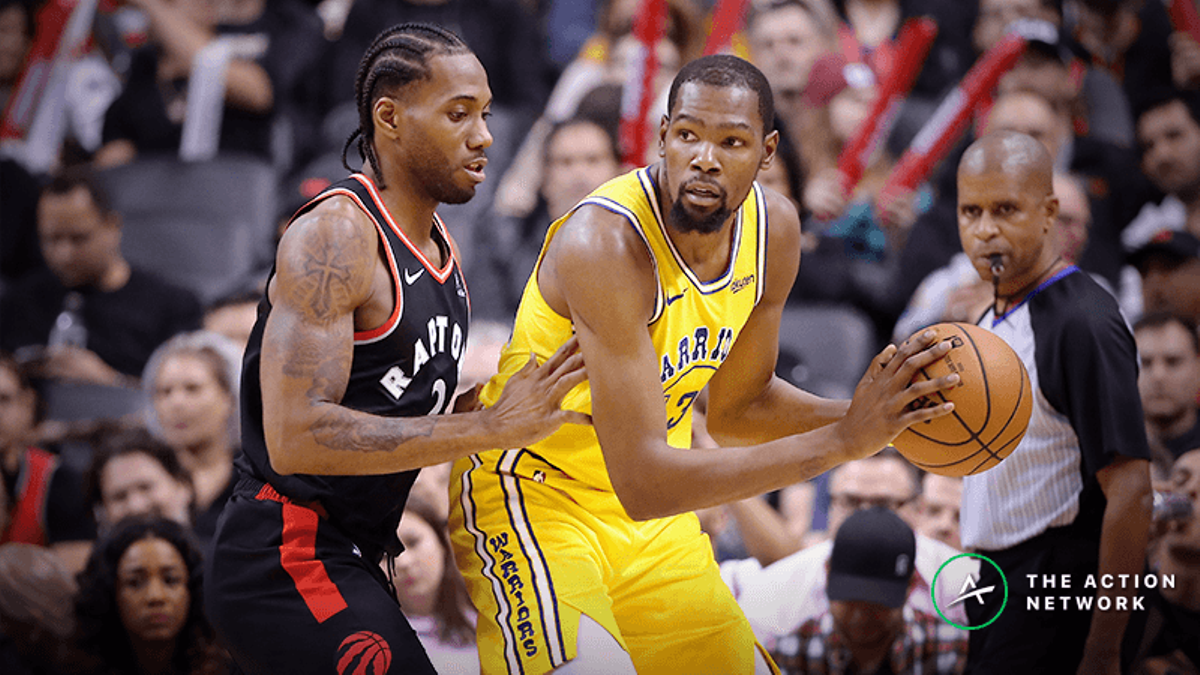 How Kevin Durant Injury Has Altered Odds, Expectations for Warriors In 2019 NBA Finals vs. Raptors article feature image