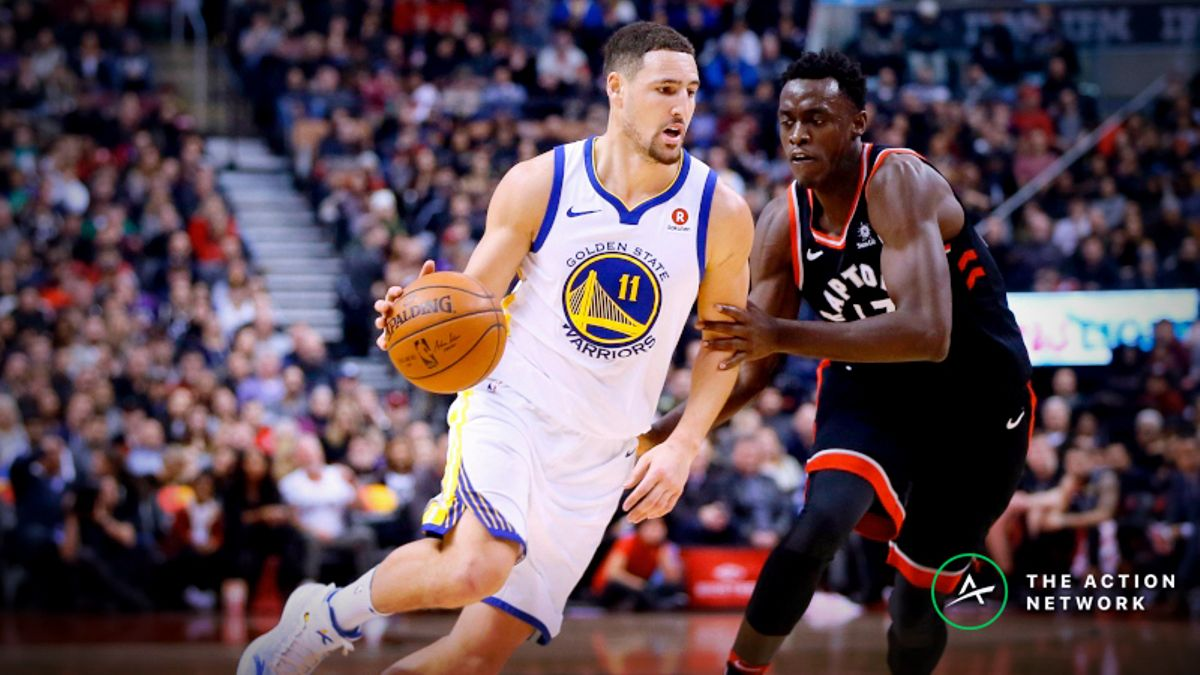 Locky: How to Hedge Raptors, Warriors Futures Tickets During the NBA Finals article feature image