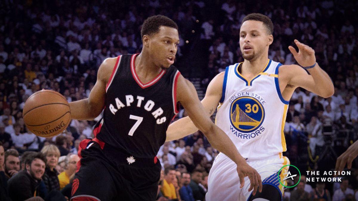 NBA Betting Tip: Should Bettors Follow Raptors-Warriors Game 1 Line Movement? article feature image