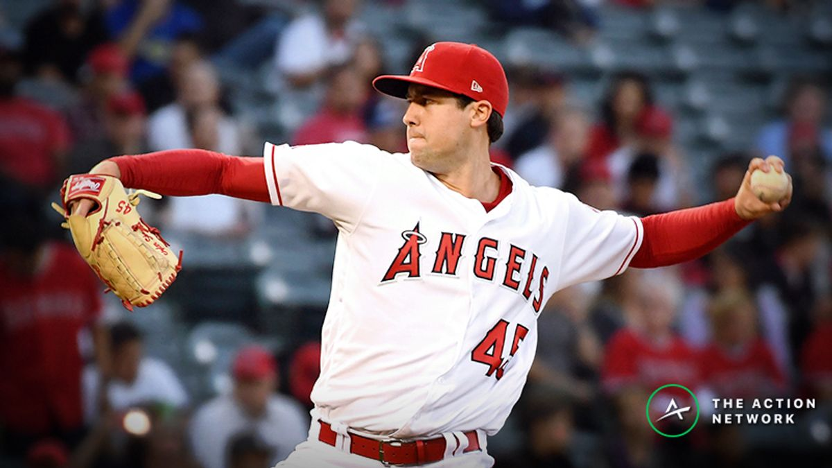 MLB Daily Betting Model, 5/31: Tyler Skaggs, Angels Look to Beat Skidding Mariners article feature image
