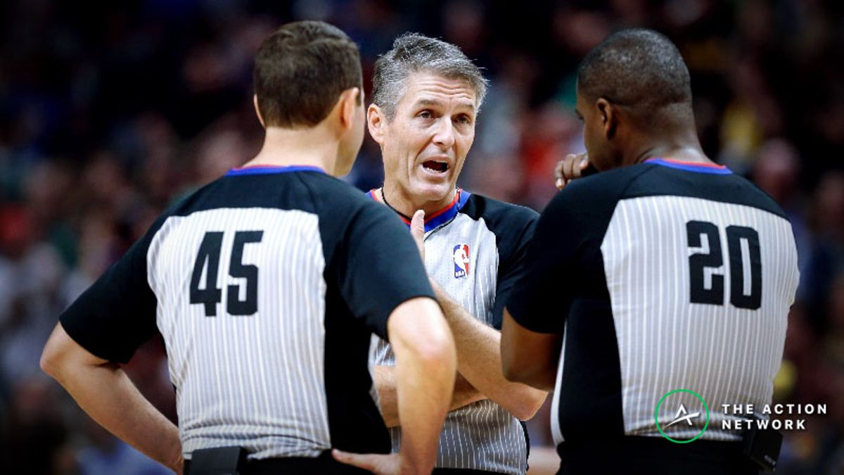 Nba referee betting trends for nfl in game betting nba all star