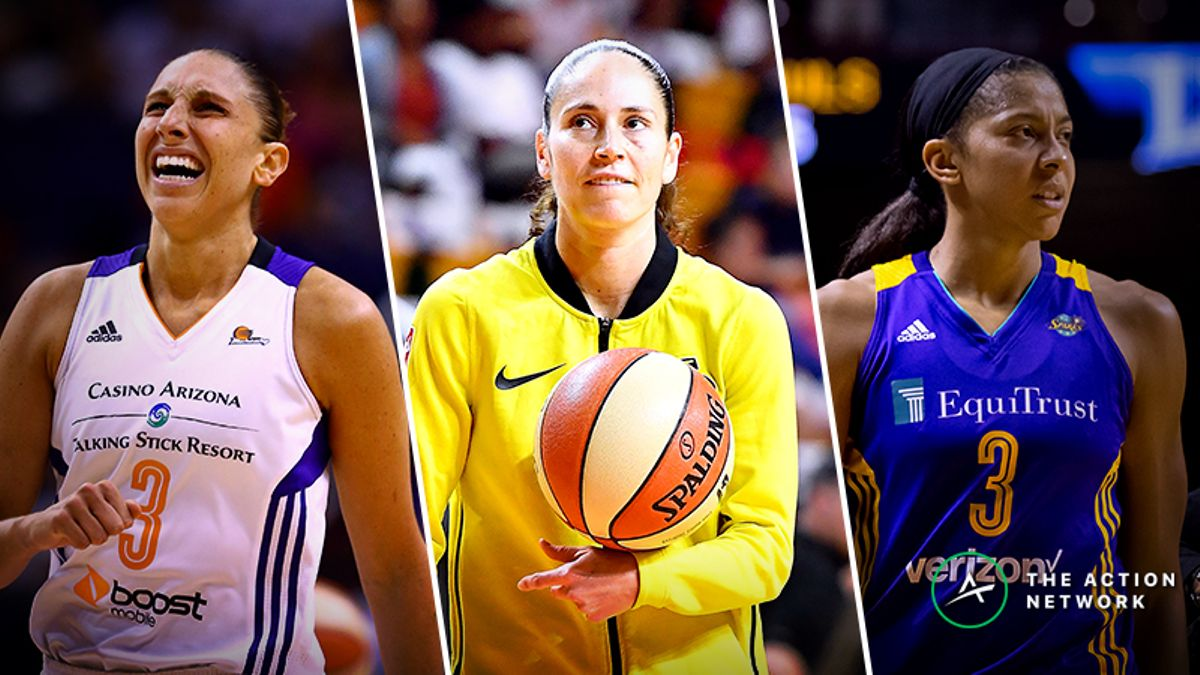 WNBA Injuries to Know: Diana Taurasi, Sue Bird, Candace Parker, More article feature image