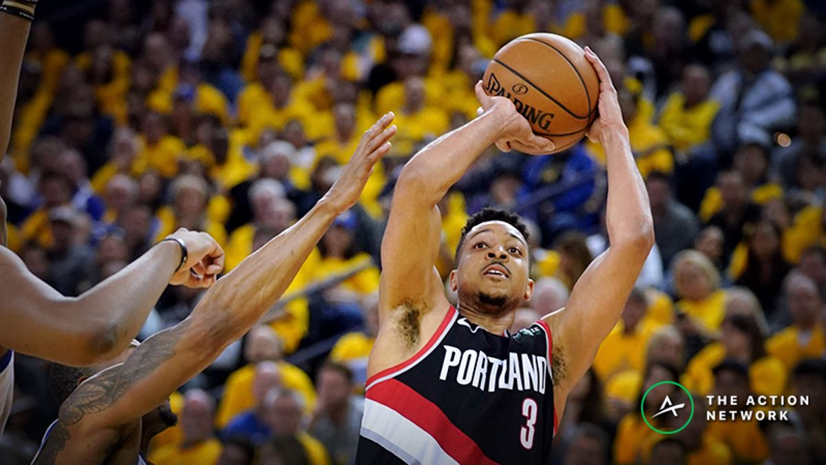 Moore: How I'm Betting Warriors-Blazers Game 2 article feature image