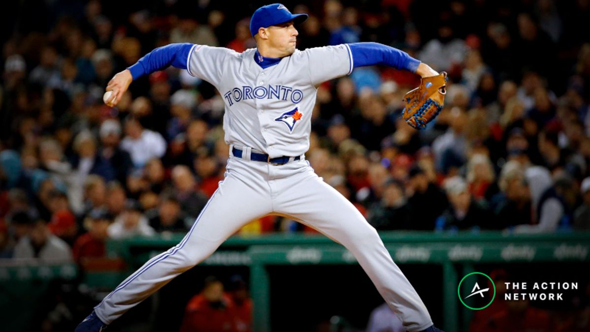 Freedman's Favorite Strikeout Prop (May 2): Bet on Aaron Sanchez to Regress article feature image