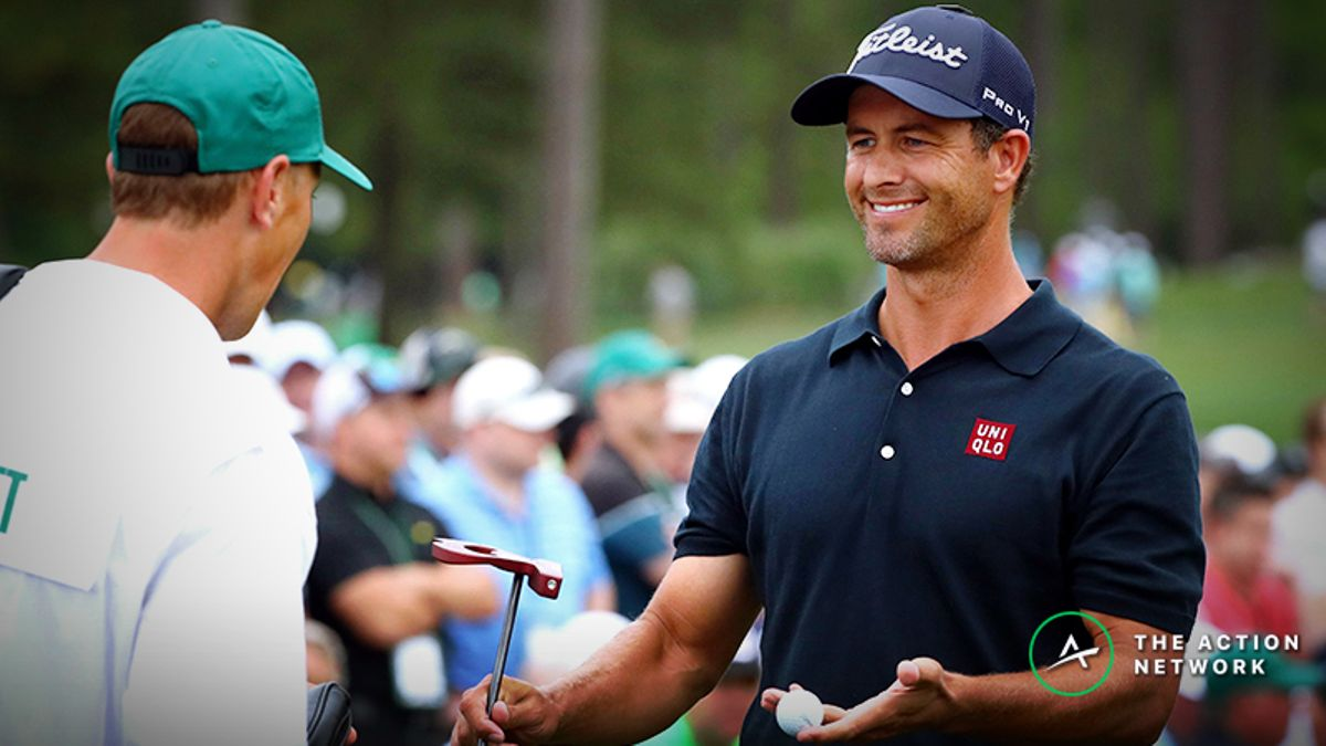 Adam Scott 2019 PGA Championship Betting Odds, Preview: Short Putts Are Key article feature image
