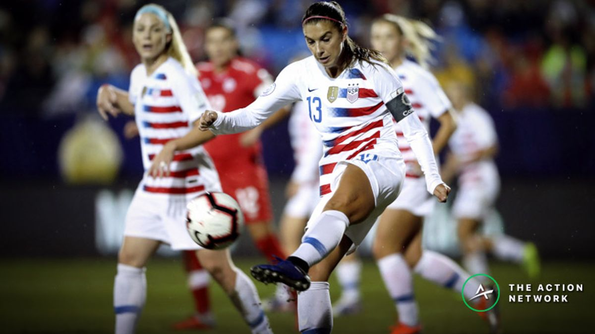 USA's Alex Morgan Co-Favorite For Top Goalscorer at 2019 Women's World Cup article feature image