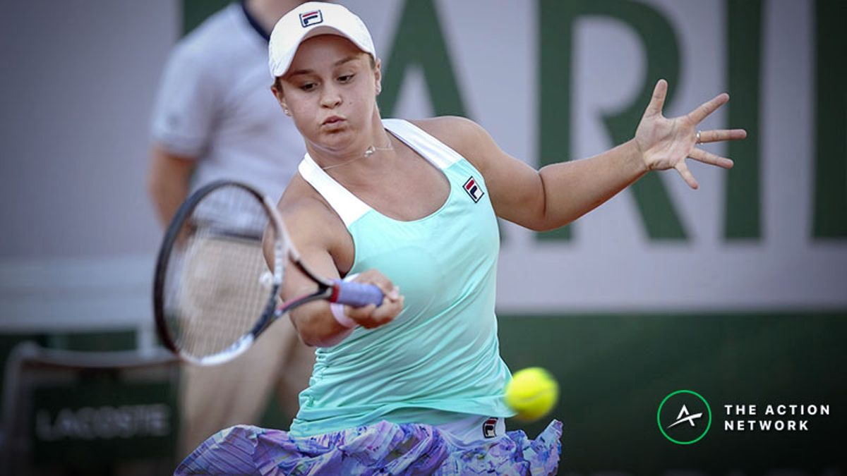 3 Thursday WTA French Open Second Round Bets: Ashleigh Barty Looks Too Steep article feature image