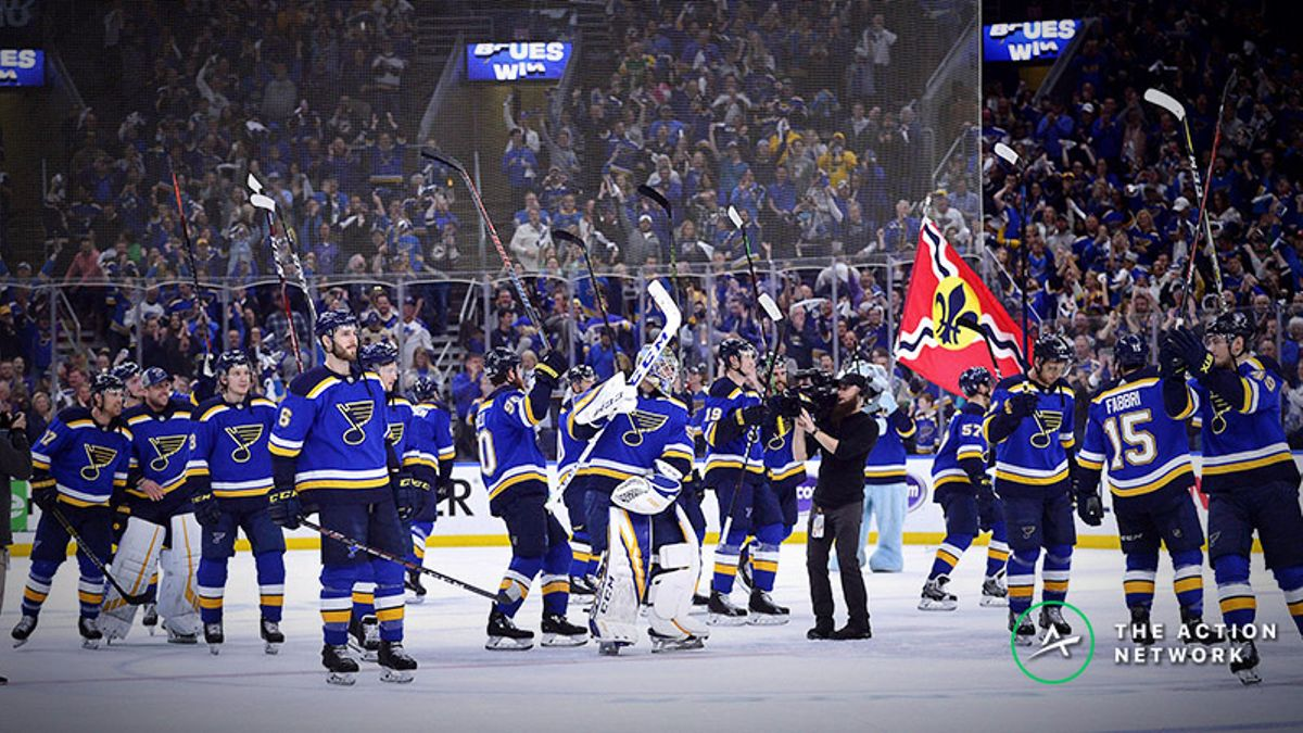 Rovell: Blues Fan Can Turn $400 into $100K If St. Louis Wins First Stanley Cup article feature image