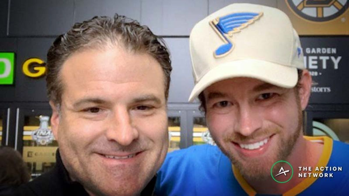 Blues Fan Who'd Win $100K on Stanley Cup Win: 'I Refuse to Hedge, We're All Gonna Be Victorious' article feature image