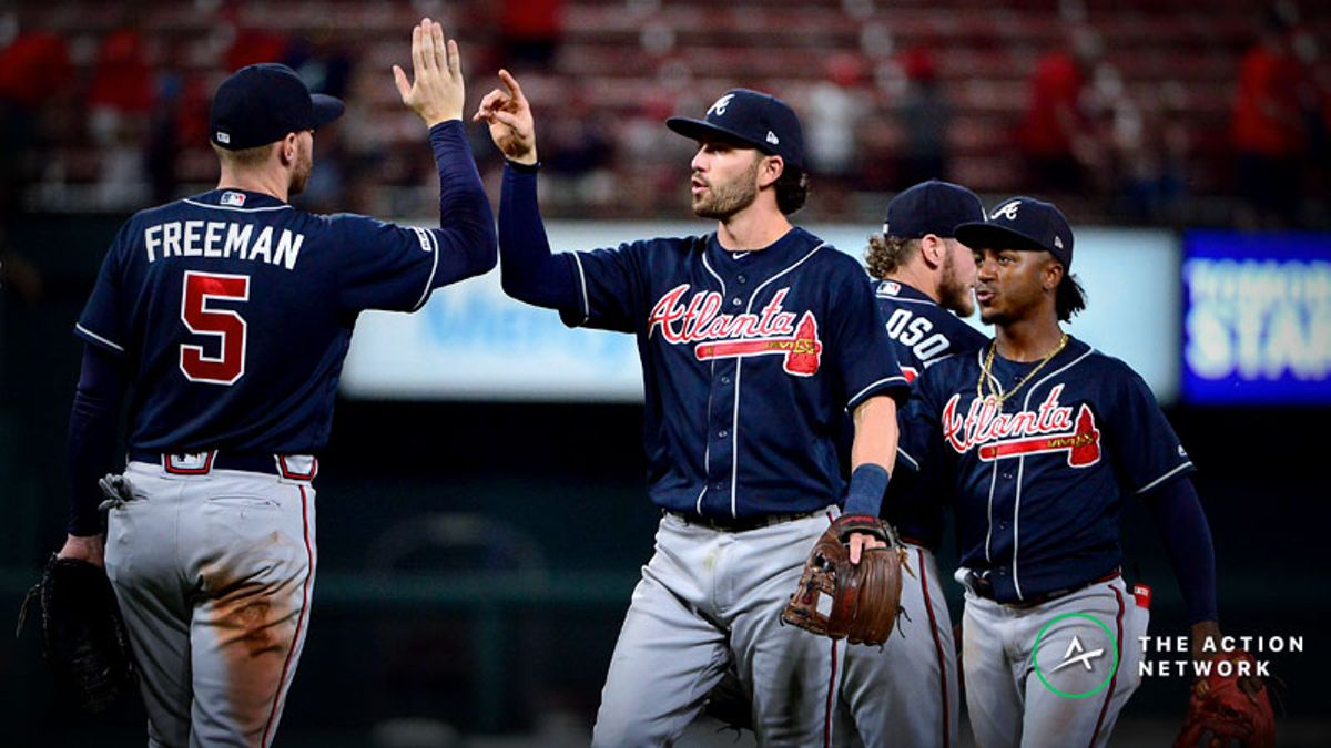 MLB Sharp Report: Pros Playing Braves-Cardinals, 2 Other Games article feature image