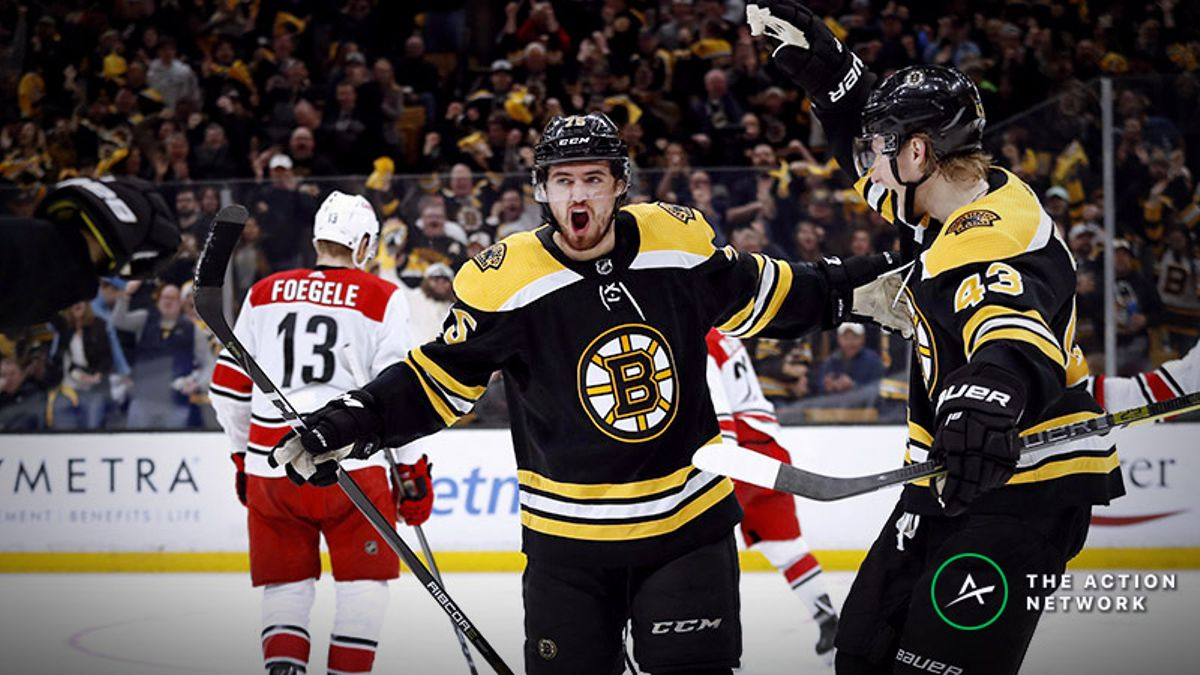 Bruins vs. Hurricanes Game 3 Betting Odds, Preview: Is Carolina Toast? article feature image