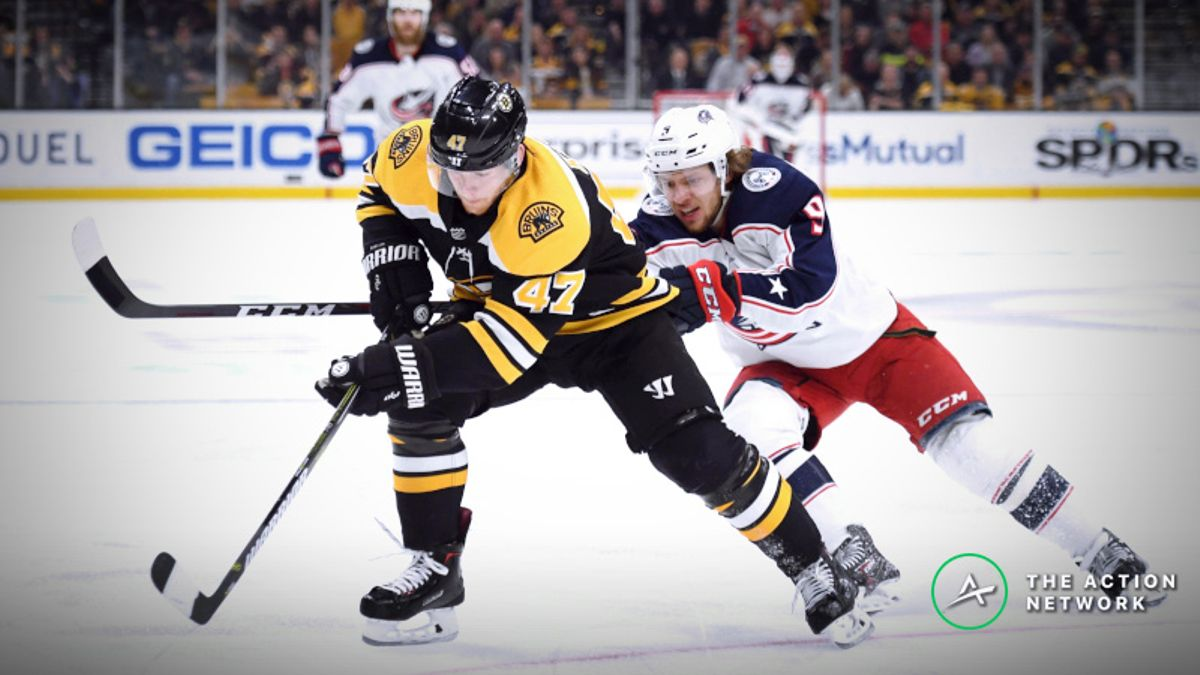 Sharp Action Hitting Blue Jackets vs. Bruins Game 5 Over/Under article feature image