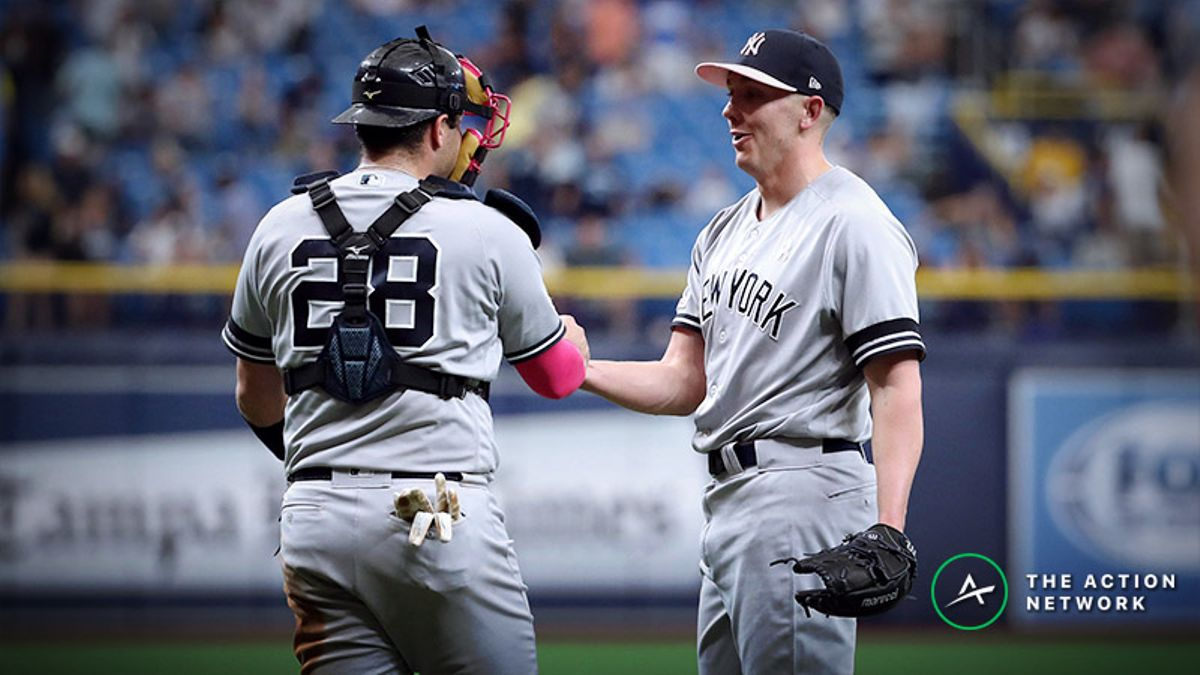 MLB Daily Betting Model, 5/19: Backing the Astros and Yankees as Underdogs article feature image