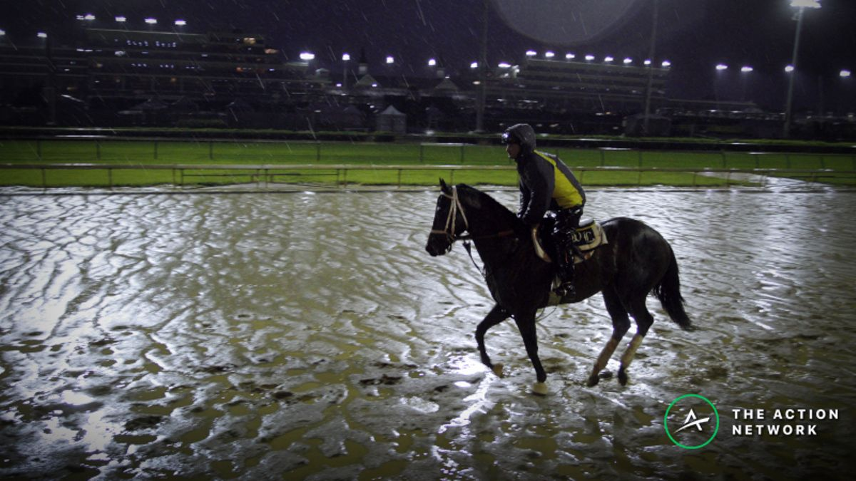 2019 Kentucky Oaks Weather Updates: Track Firming Up Despite Heavy Morning Rain article feature image