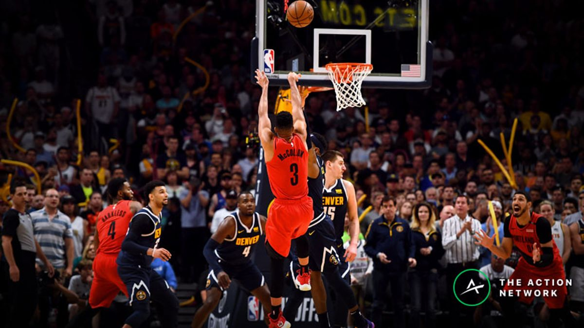 Moore: The Trail Blazers Owned the Moment in Game 7 Win Over Nuggets article feature image