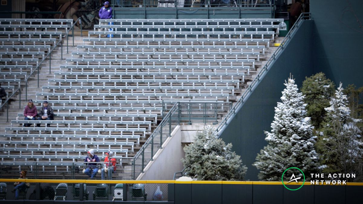 MLB Wednesday Weather: Over/Under Falling Fast at Uncharacteristic Coors Field article feature image