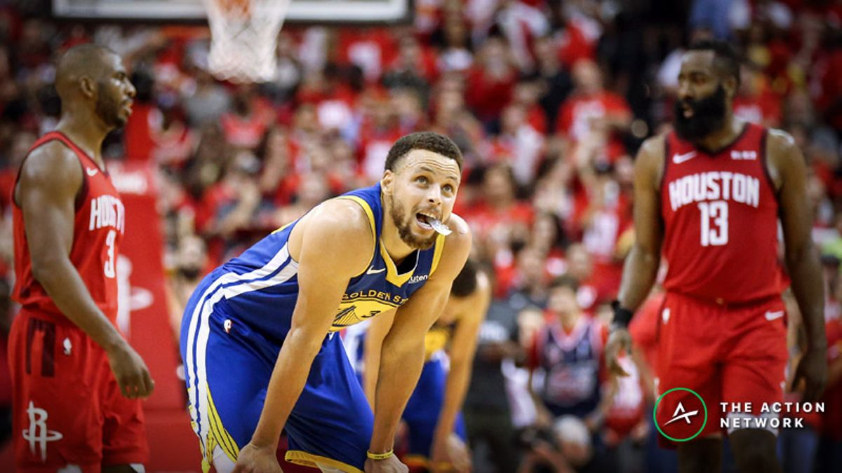 Warriors vs. Rockets Game 6 Betting Preview: Will Golden State Rally Without Durant? article feature image
