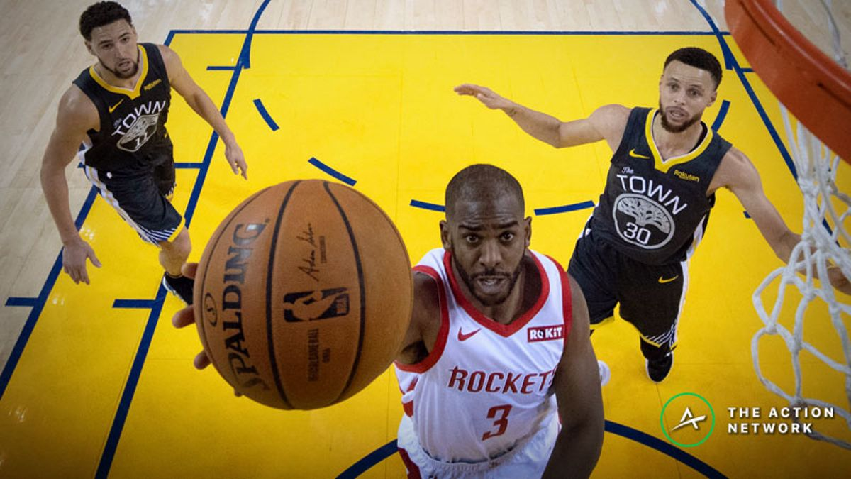 Warriors vs. Rockets Game 3 Betting Preview: Will Houston Get Back in This Series? article feature image