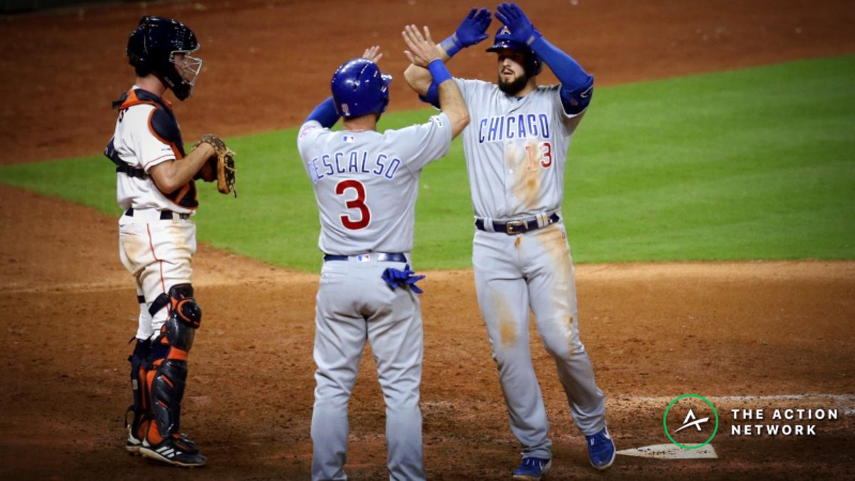 MLB Sharp Report: Pros Betting Cubs-Astros, 2 Other Wednesday Games article feature image