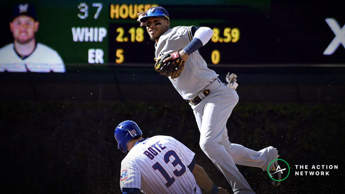 Sunday Night Baseball Betting Notes: Brewers-Cubs Rubber Match at Wrigley Field article feature image