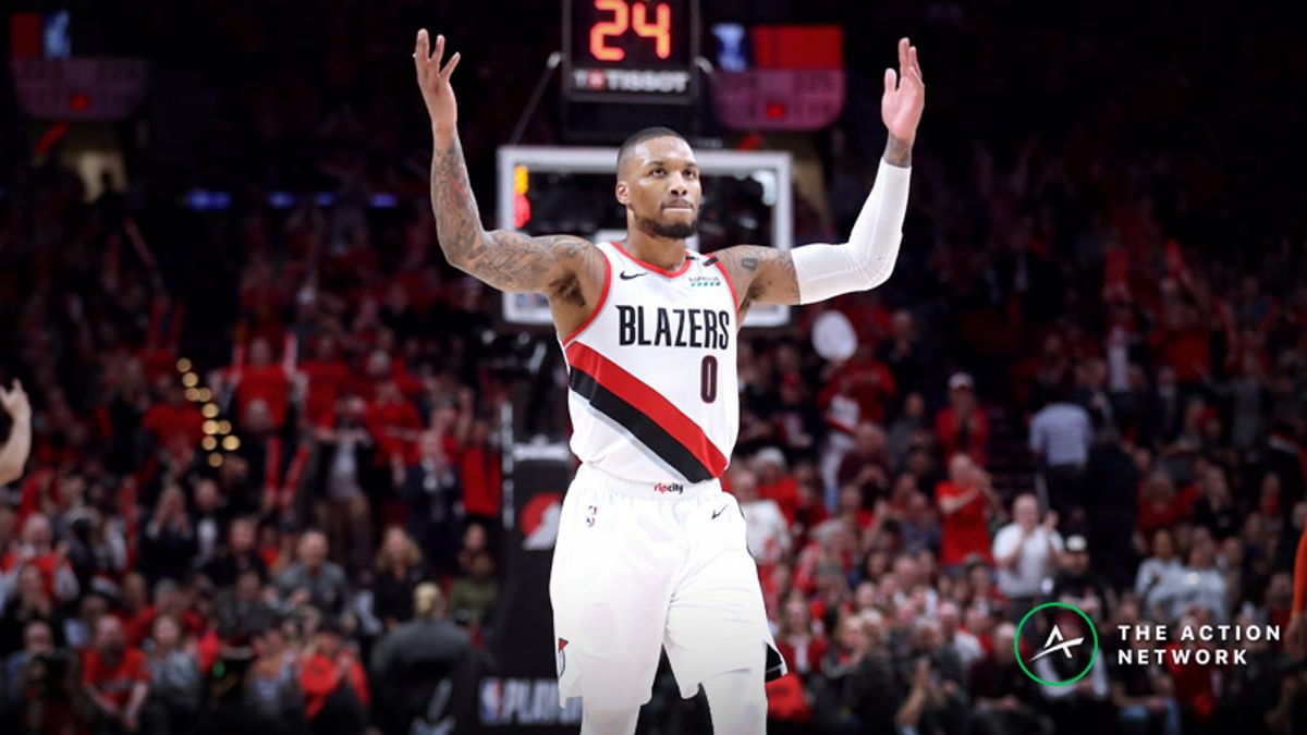 On Damian Lillard, the Nuggets, the Kitchen Sink, and His Assists Total article feature image